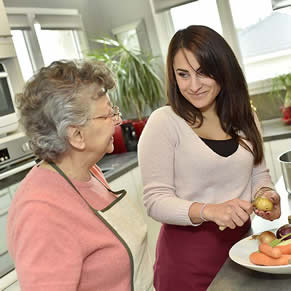 home care - older persons cooking assistance
