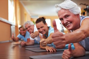 increasing health in your sixties