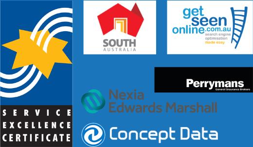 Affiliation company logos