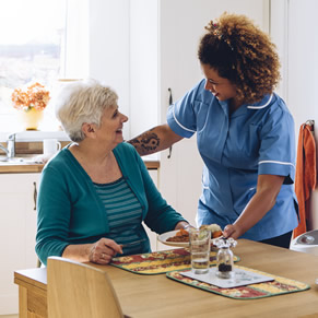 Aged care services - meal preparation